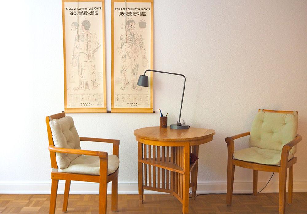 Heilpraktiker Hamburg - Praxis für japanische Akupunktur Wartezimmer